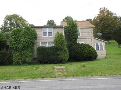 Patton PA Single Family Home For Sale: $26,000