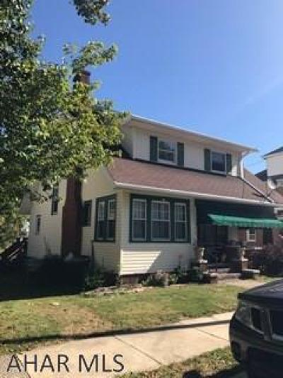 Altoona Single Family Home For Sale: 2510 10th Street