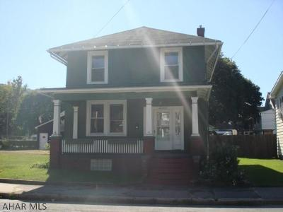 Tyrone Single Family Home For Sale: 11 9th Street