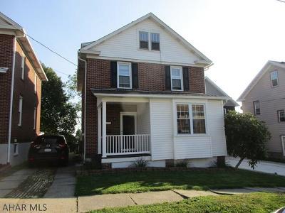 Ebensburg Single Family Home For Sale: 414 W Sample St