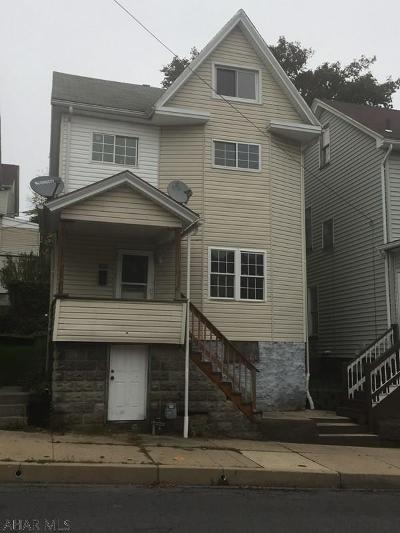 Altoona PA Single Family Home For Sale: $34,900