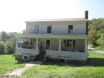 Altoona PA Single Family Home For Sale: $29,900