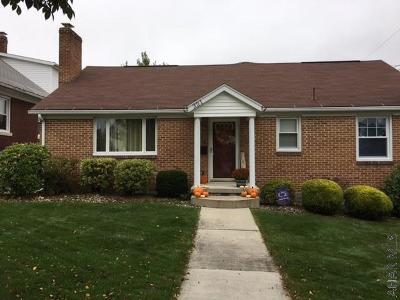 Ebensburg Single Family Home For Sale: 321 E Highland Avenue