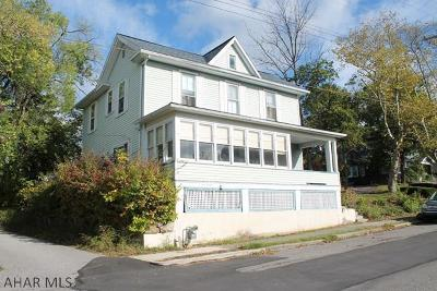 Hollidaysburg Single Family Home For Sale: 511 Hickory Street