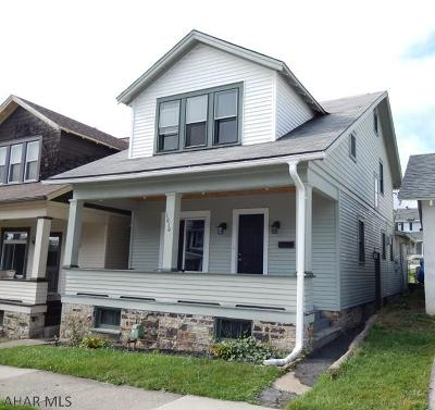 Altoona Single Family Home For Sale: 1010 24th Ave