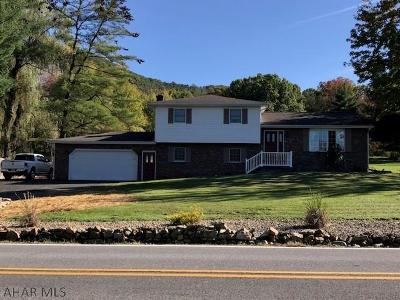 Hollidaysburg Single Family Home For Sale: 1548 Reservoir Road