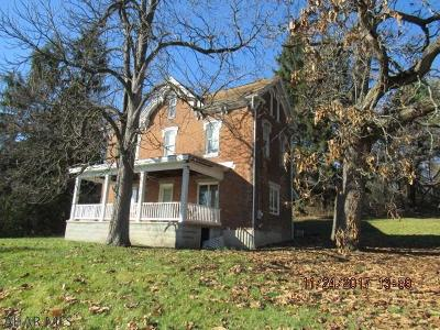 Hollidaysburg, Duncansville Single Family Home For Sale: 191 Lower Brush Mountain Rdo