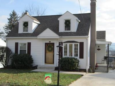 Blair County Single Family Home For Sale: 411 28th Avenue