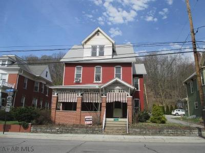 Tyrone PA Single Family Home For Sale: $54,900