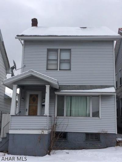 Altoona Single Family Home For Sale: 413 5th Avenue