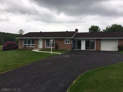 Single Family Home For Sale: 1614 Crissman Road