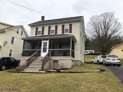 Claysburg Single Family Home For Sale: 538 Bedford Street