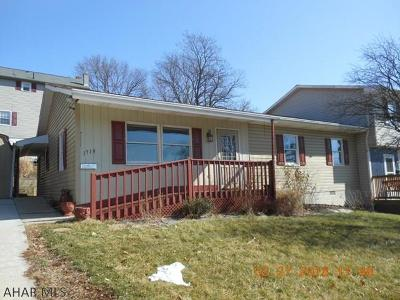 Altoona Single Family Home For Sale: 1714 2nd St