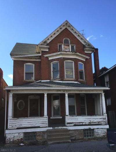 Altoona Single Family Home For Sale: 610 8th Avenue