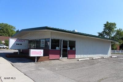 Altoona Commercial For Sale: 25-37 Logan Boulevard
