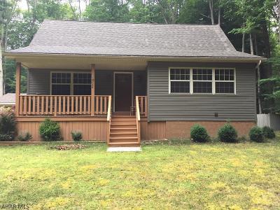 Single Family Home For Sale: 328 Kibler Lake Road