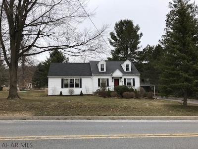 Blair County Single Family Home For Sale: 3644 Juniata Gap Road