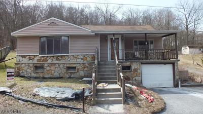 Six Mile Run PA Single Family Home For Sale: $19,900