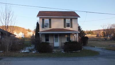 Ramey PA Single Family Home Sold: $9,500
