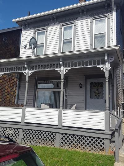 Altoona PA Single Family Home Sold: $74,900