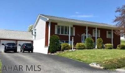 Hollidaysburg Single Family Home For Sale: 231 Bonnie Lane