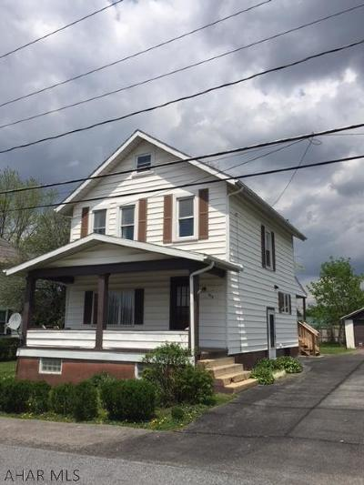 Altoona PA Single Family Home Sold: $78,500