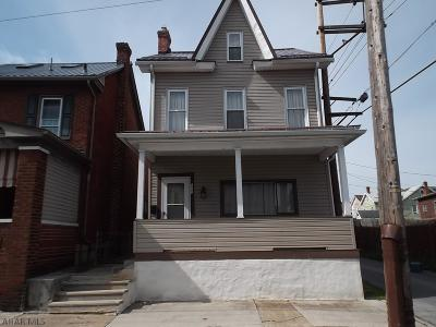 Altoona Single Family Home For Sale: 111 S 9th St