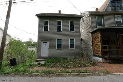 Altoona PA Single Family Home For Sale: $13,900