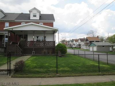 Colver PA Single Family Home For Sale: $86,900