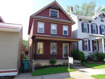Hollidaysburg, Duncansville Single Family Home For Sale: 618 Mulberry Street
