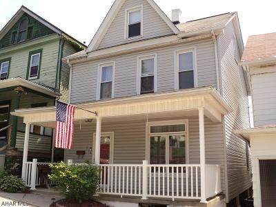 Altoona Single Family Home For Sale: 329 Pine Ave