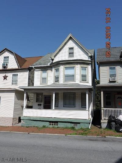 Blair County Single Family Home For Sale: 124 E 5 Ave