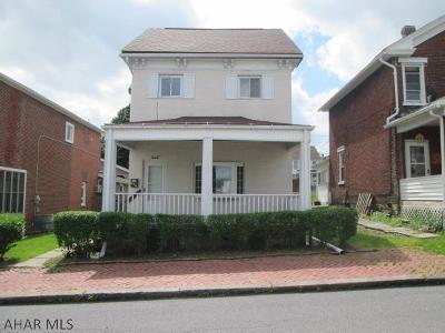 Altoona PA Single Family Home Sold: $47,900