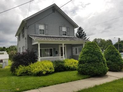 Ebensburg Single Family Home For Sale: 414 W Triumph St