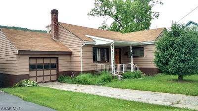 Roaring Spring Single Family Home For Sale: 408 Sugar St.