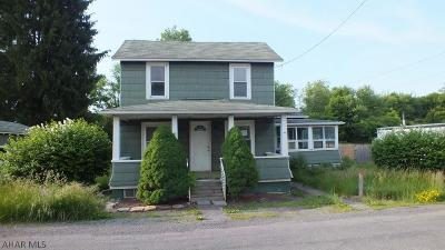 Morrisdale PA Single Family Home For Sale: $10,400
