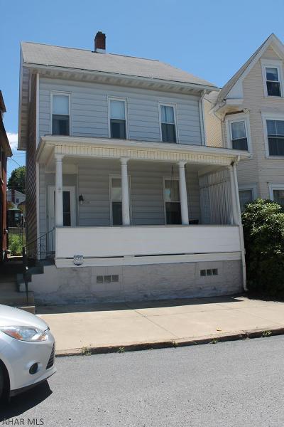 Altoona Single Family Home For Sale: 1919 4th Avenue