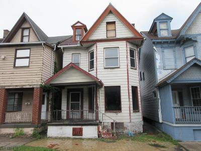 Altoona PA Single Family Home For Sale: $19,900