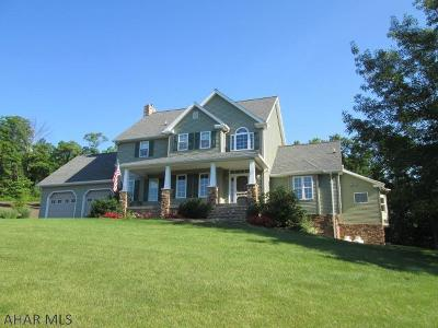 Martinsburg, Roaring Spring, East Freedom, New Enterprise, Woodbury Single Family Home For Sale: 467 Hawthorn Hill Drive