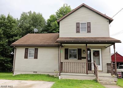 Ebensburg Single Family Home For Sale: 800 E Sample Street