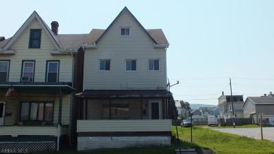 Altoona PA Single Family Home For Sale: $12,900