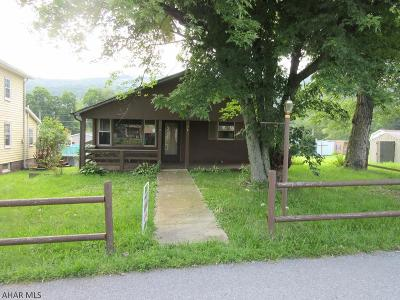 Claysburg PA Single Family Home For Sale: $29,900