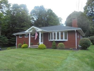 Ebensburg Single Family Home For Sale: 1176 Wilmore Road
