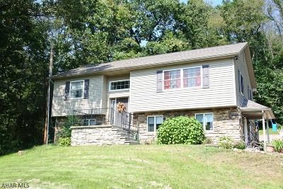 Blair County Single Family Home For Sale: 171 Cooper Lane