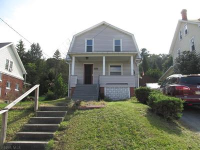 Claysburg Single Family Home For Sale: 546 Bedford Street