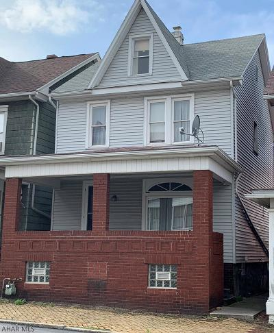 Altoona Single Family Home For Sale: 1512 1st Ave