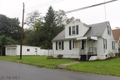 Altoona Single Family Home For Sale: 1401 Park Blvd
