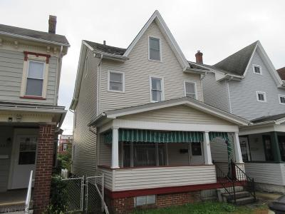 Altoona PA Single Family Home For Sale: $37,900