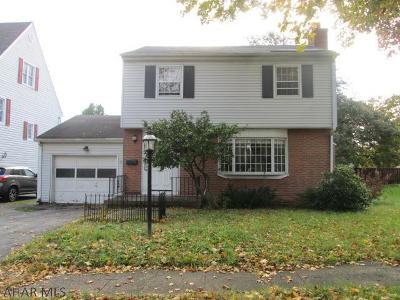 Altoona Single Family Home For Sale: 3515 Oneida Avenue