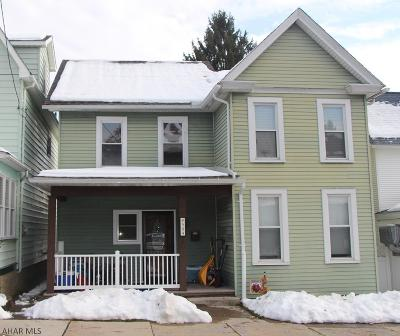 Altoona Single Family Home For Sale: 509 21st Ave